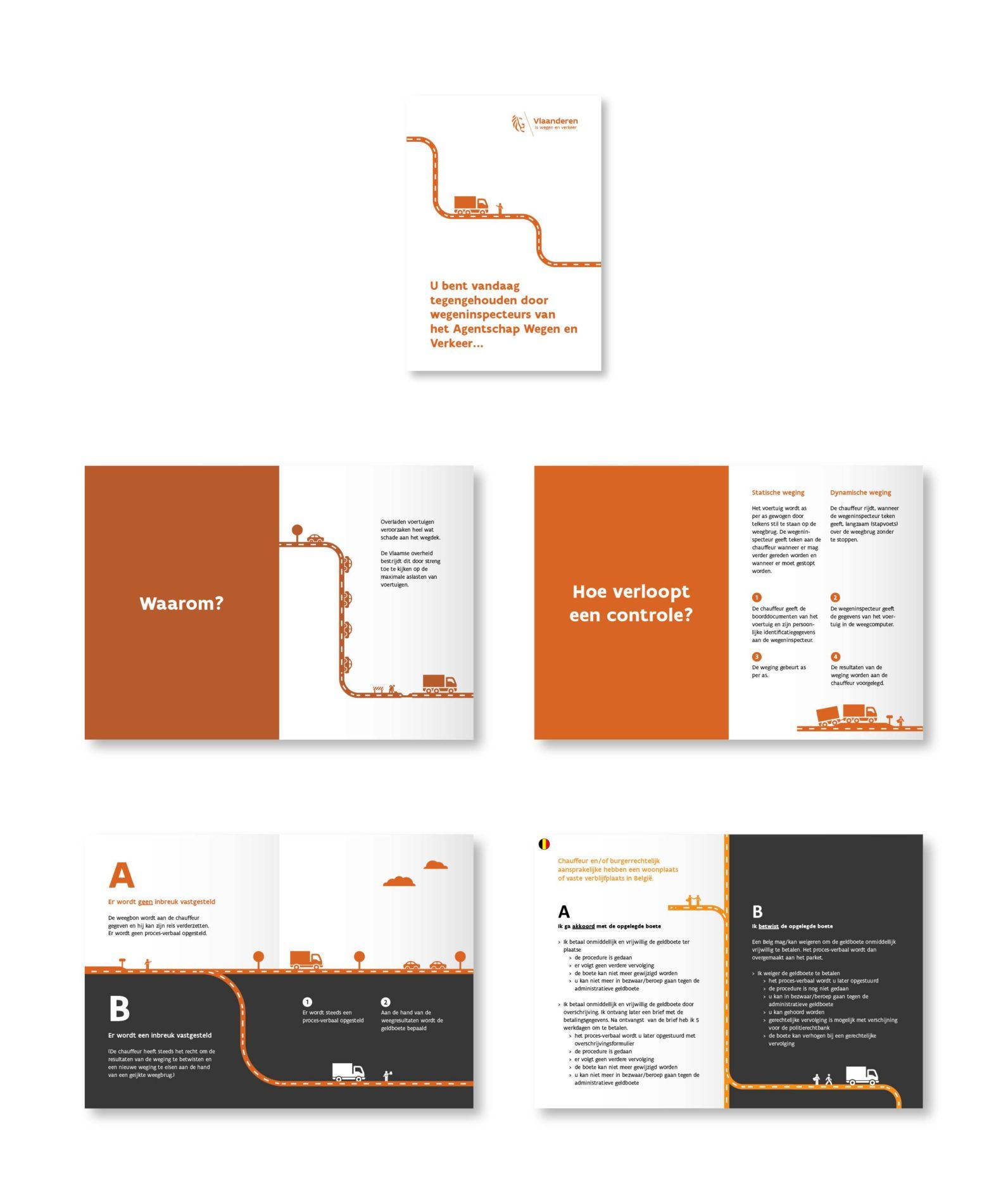 Brochure over wegeninspecteurs.