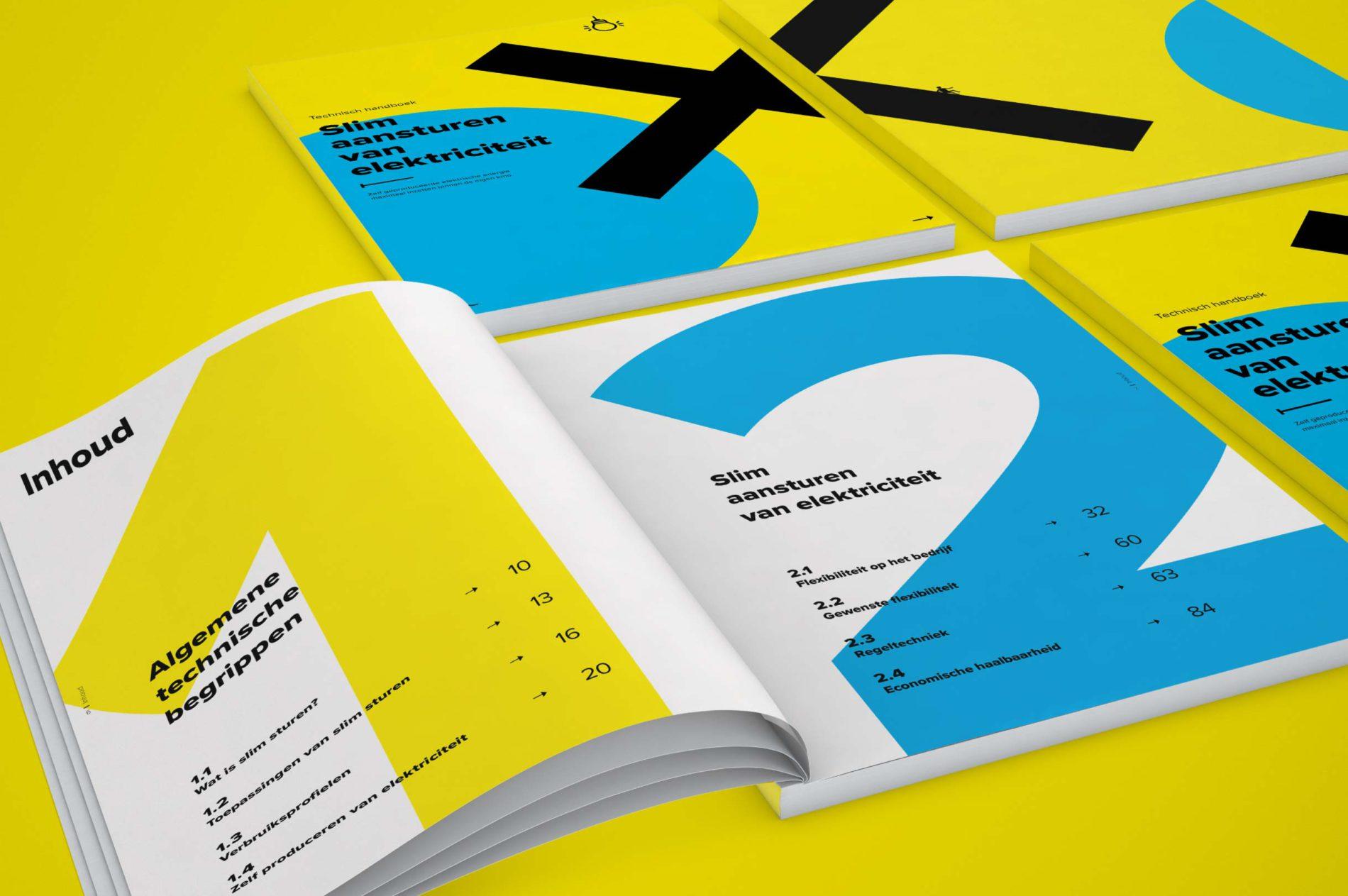 De cover en de inhoudsopgave van het handboek