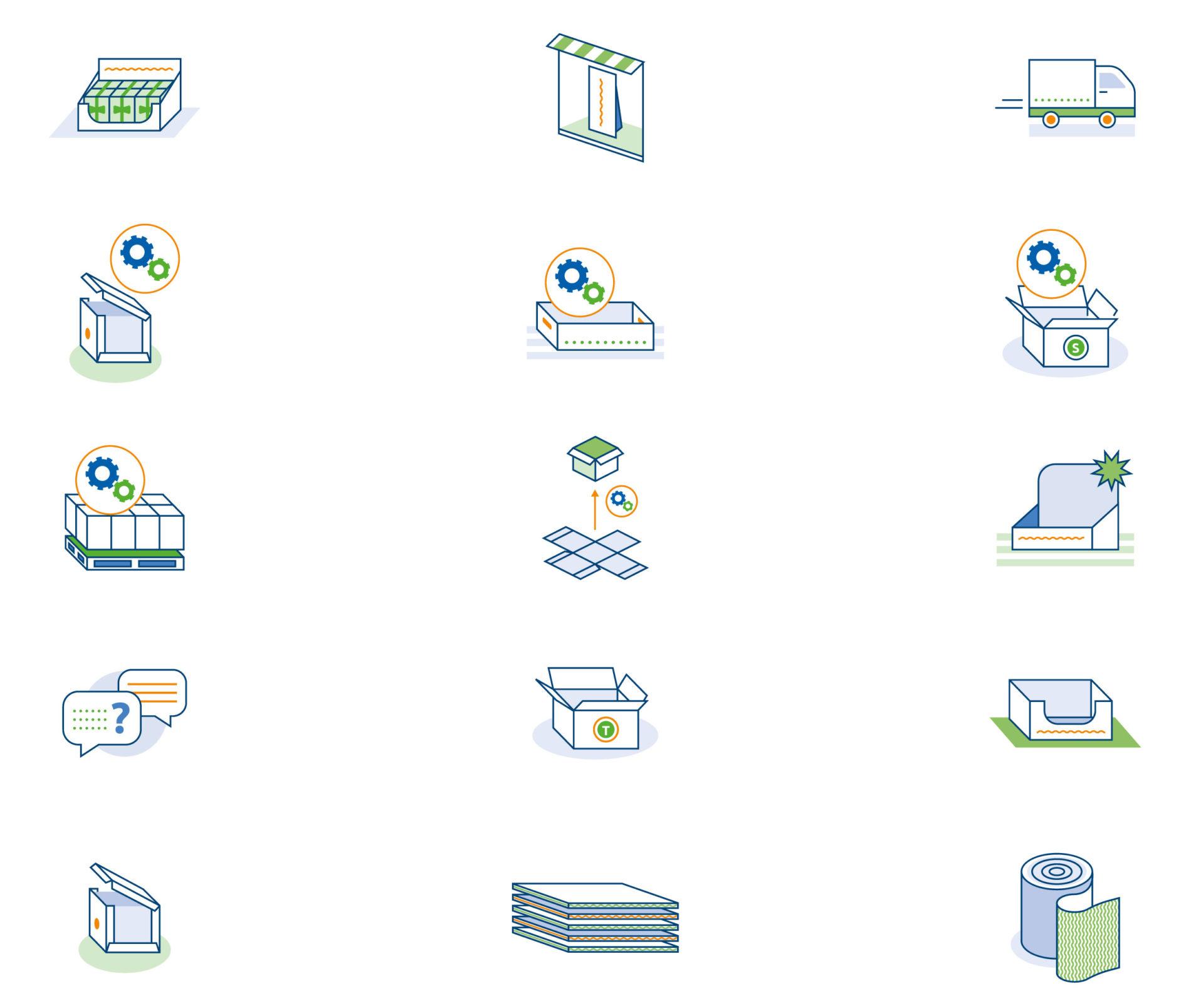 Dit zijn nog voorbeelden van iconen.