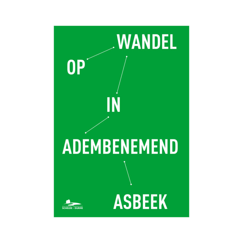 Grafisch ontwerp van een typografisch campagnebeeld voor RLSD