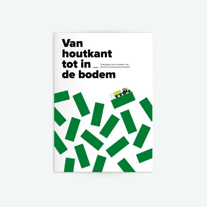 Cover van het boekje dat onze ontwerpstudio maakte.